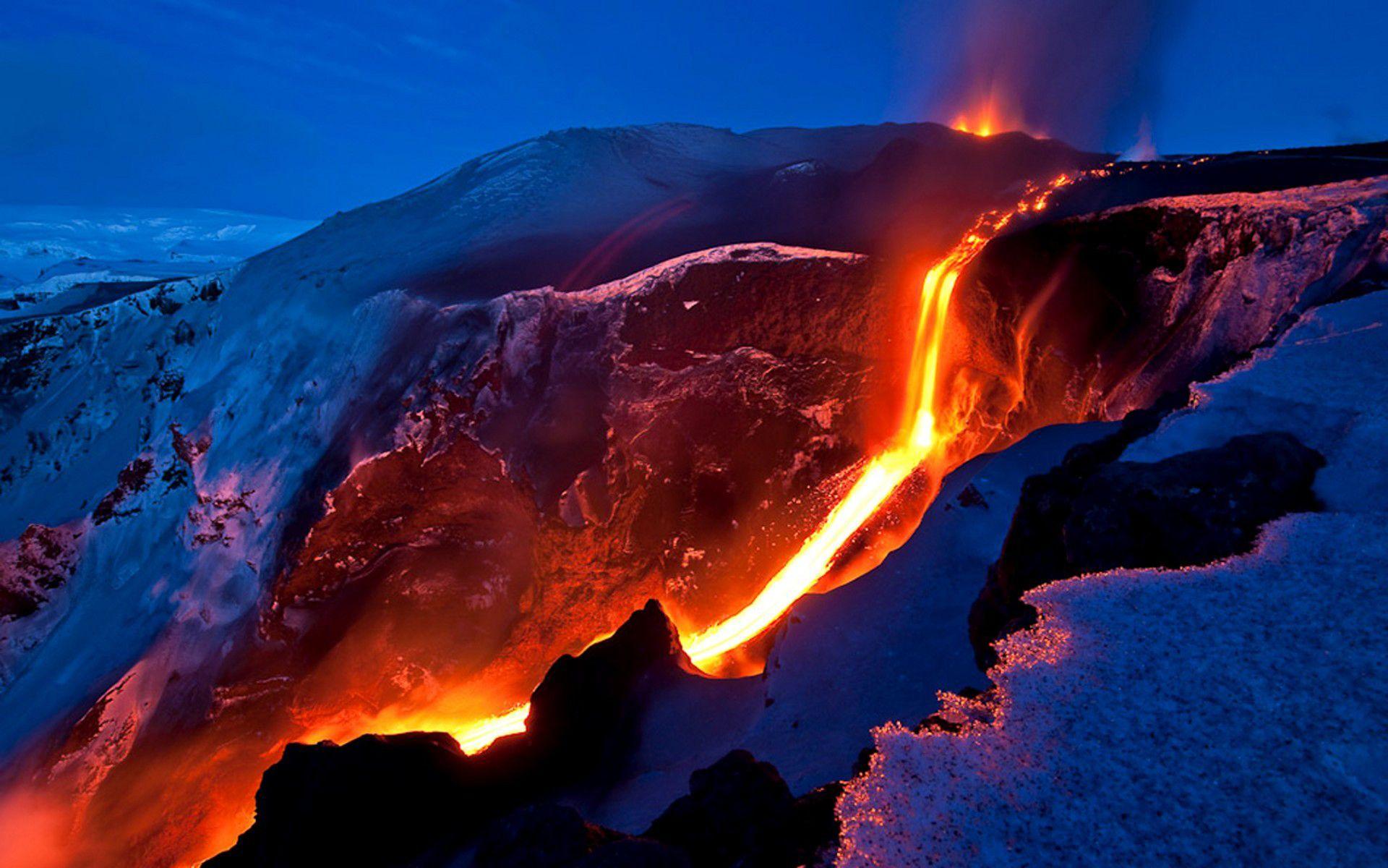 volcanoes on earth Earth Volcano WallpaperBackground 1920 x 1920x1200
