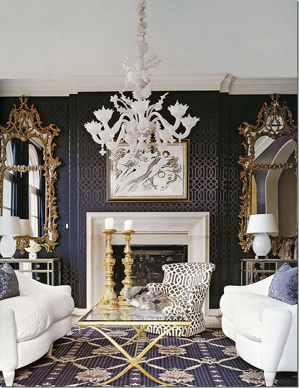 Imperial Trellis Wallpaper by Schumacher The Well Appointed House 617x800