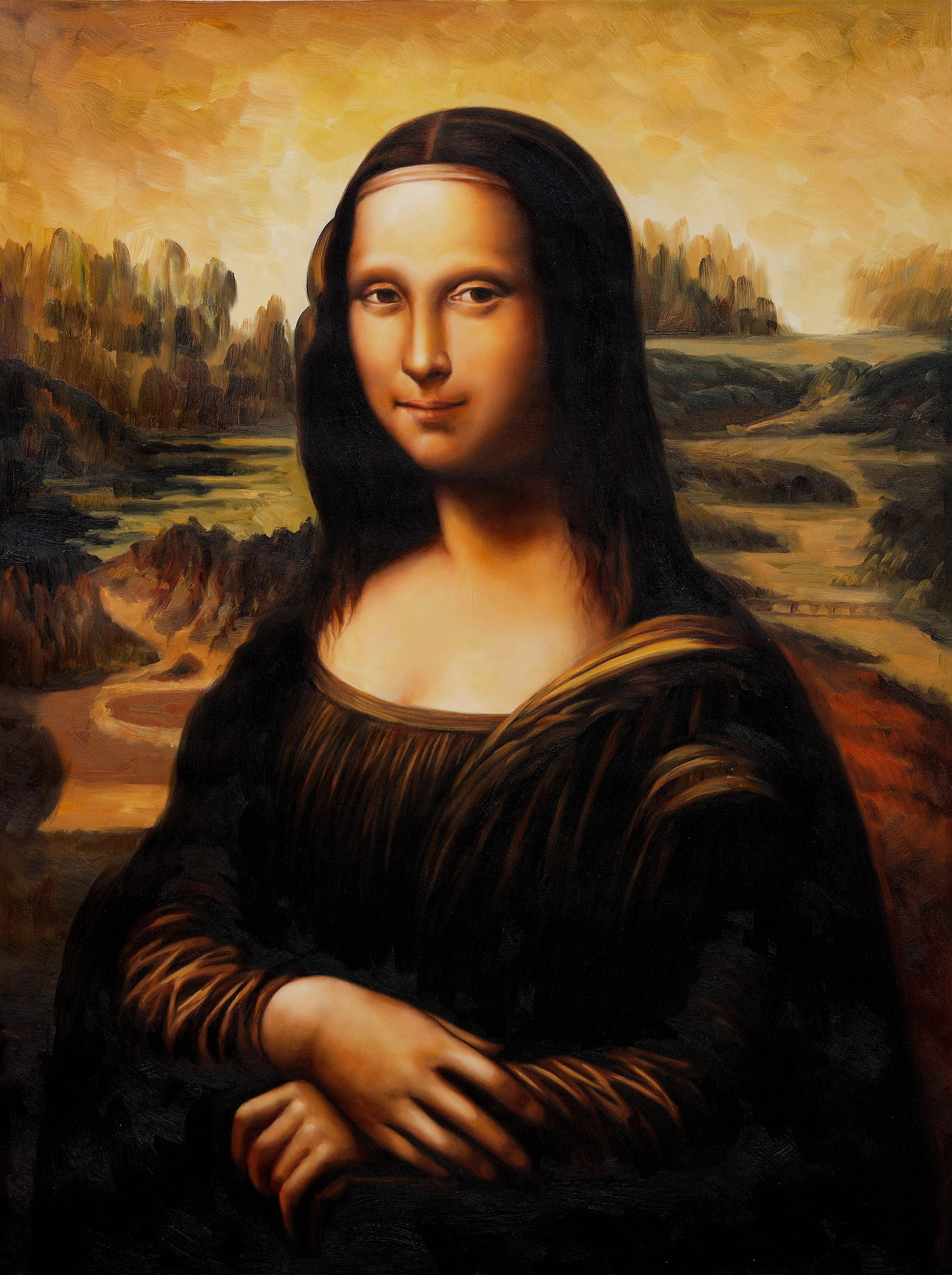Mona Lisa 44816000 Wallpaper 612693 4481x6000