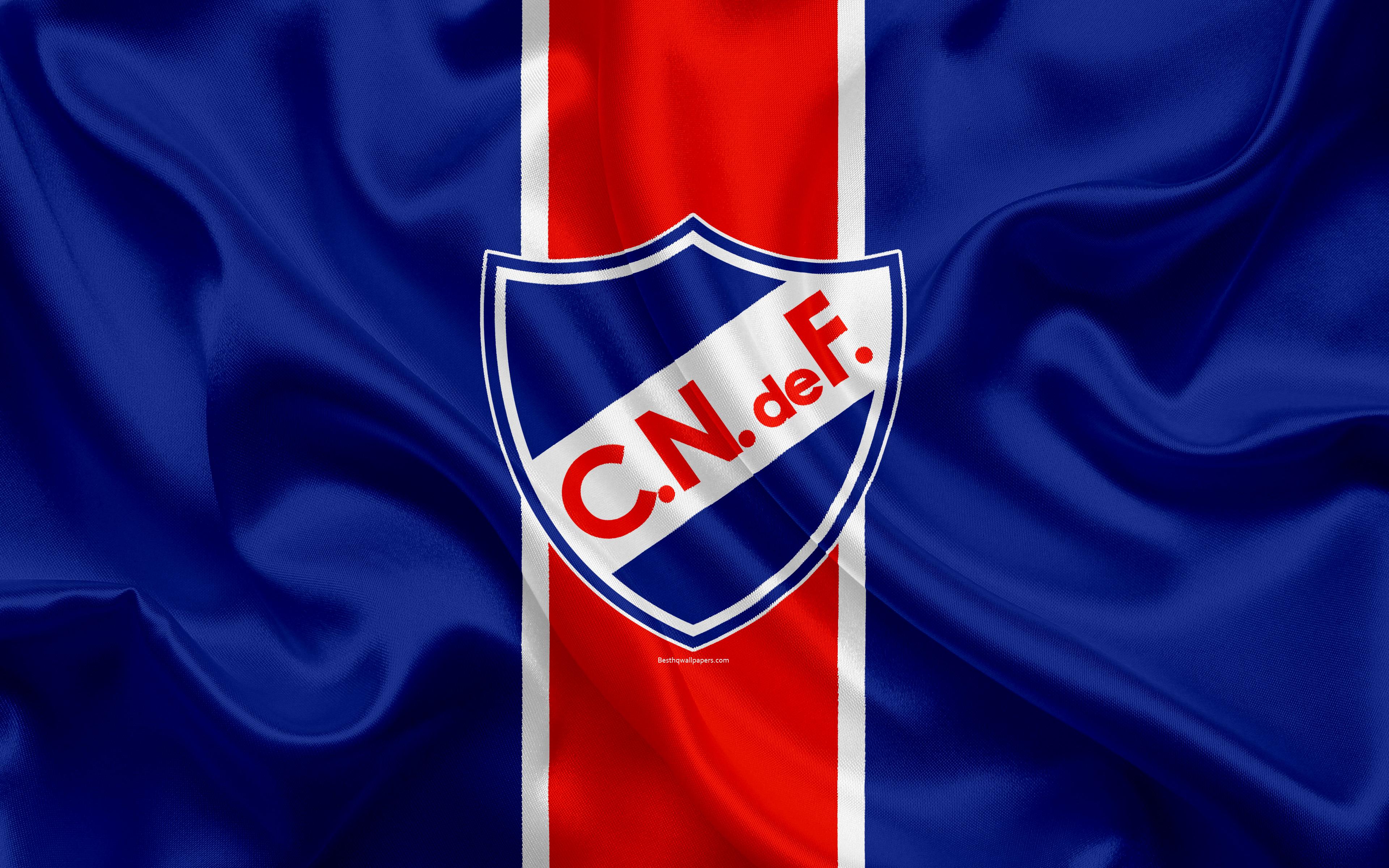 Download wallpapers Club Nacional de Football 4k Uruguayan 3840x2400