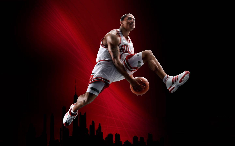 Cool Basketball Hd Widescreen 24 1080p   Derrick Rose Wallpaper Hd 1440x900