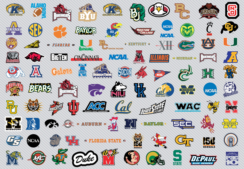 college sports logos quiz answers