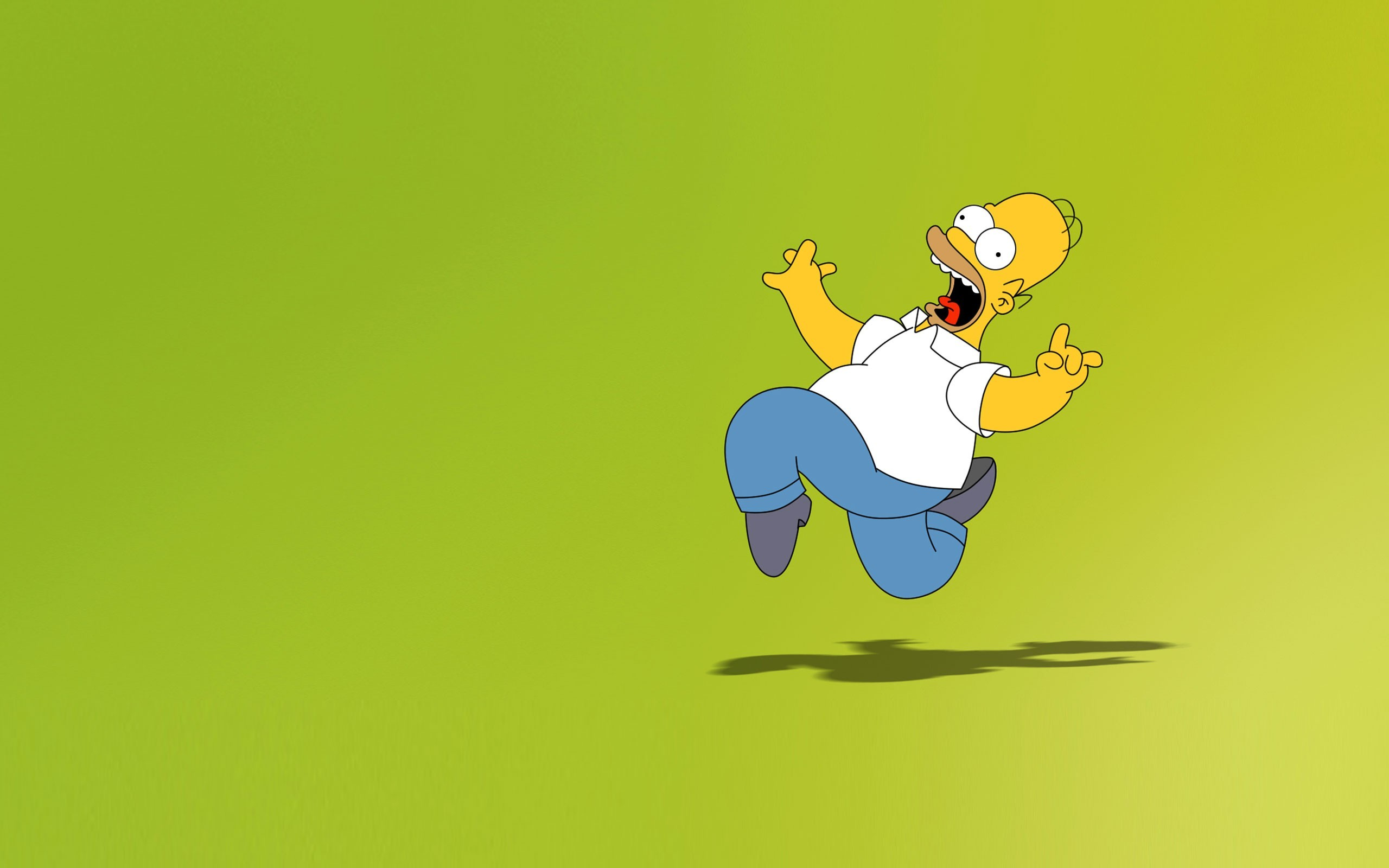 Pics Photos   The Simpsons Mac Wallpapers With Homer 2560x1600