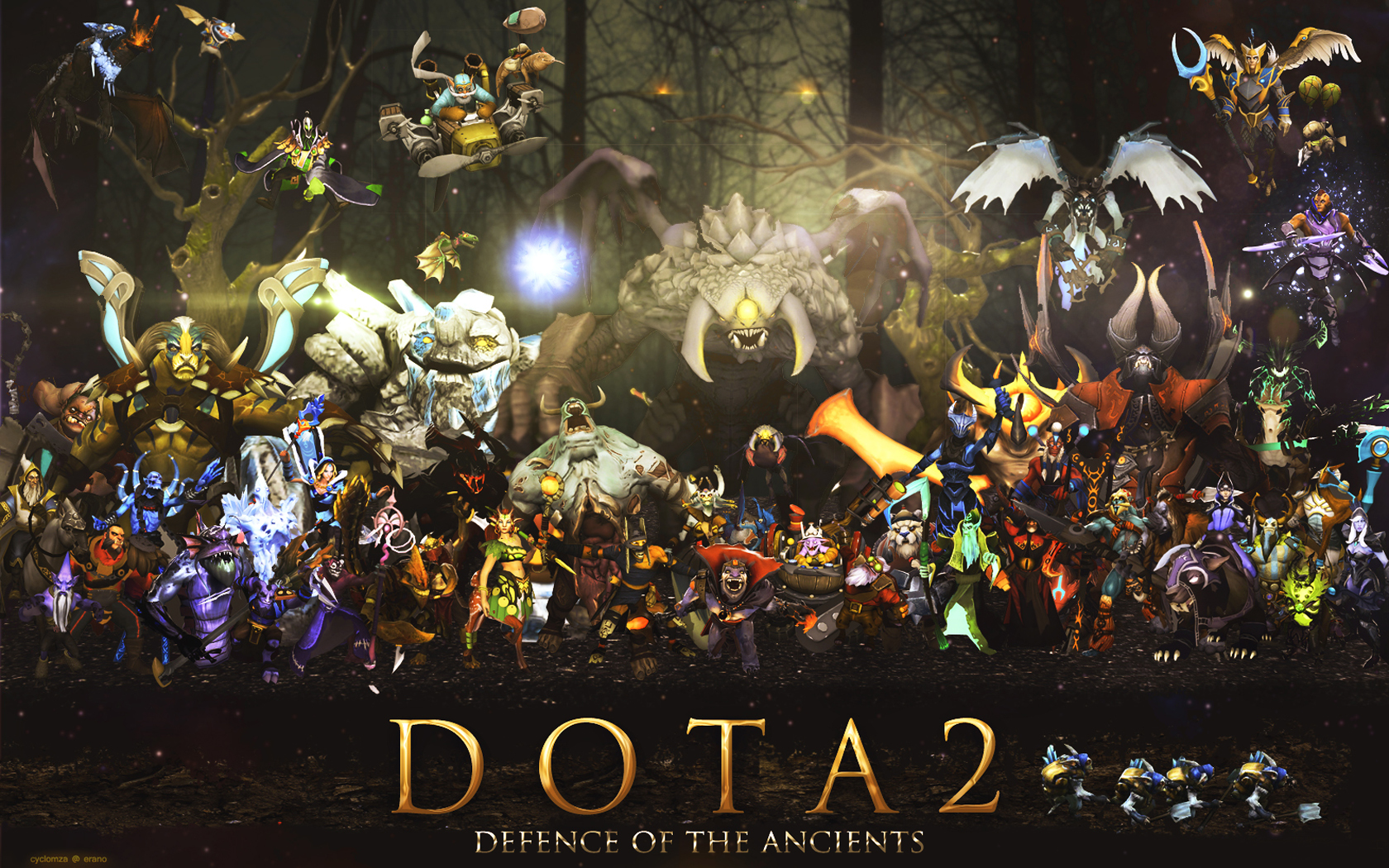 Free Download Defense Of The Ancients Games 1680x1050 For Your