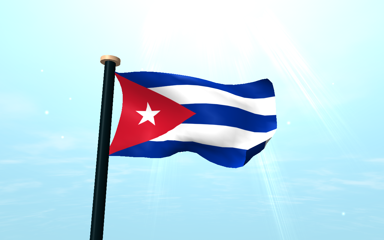 Cuba Flag 3D Wallpaper   Android Apps on Google Play 1280x800