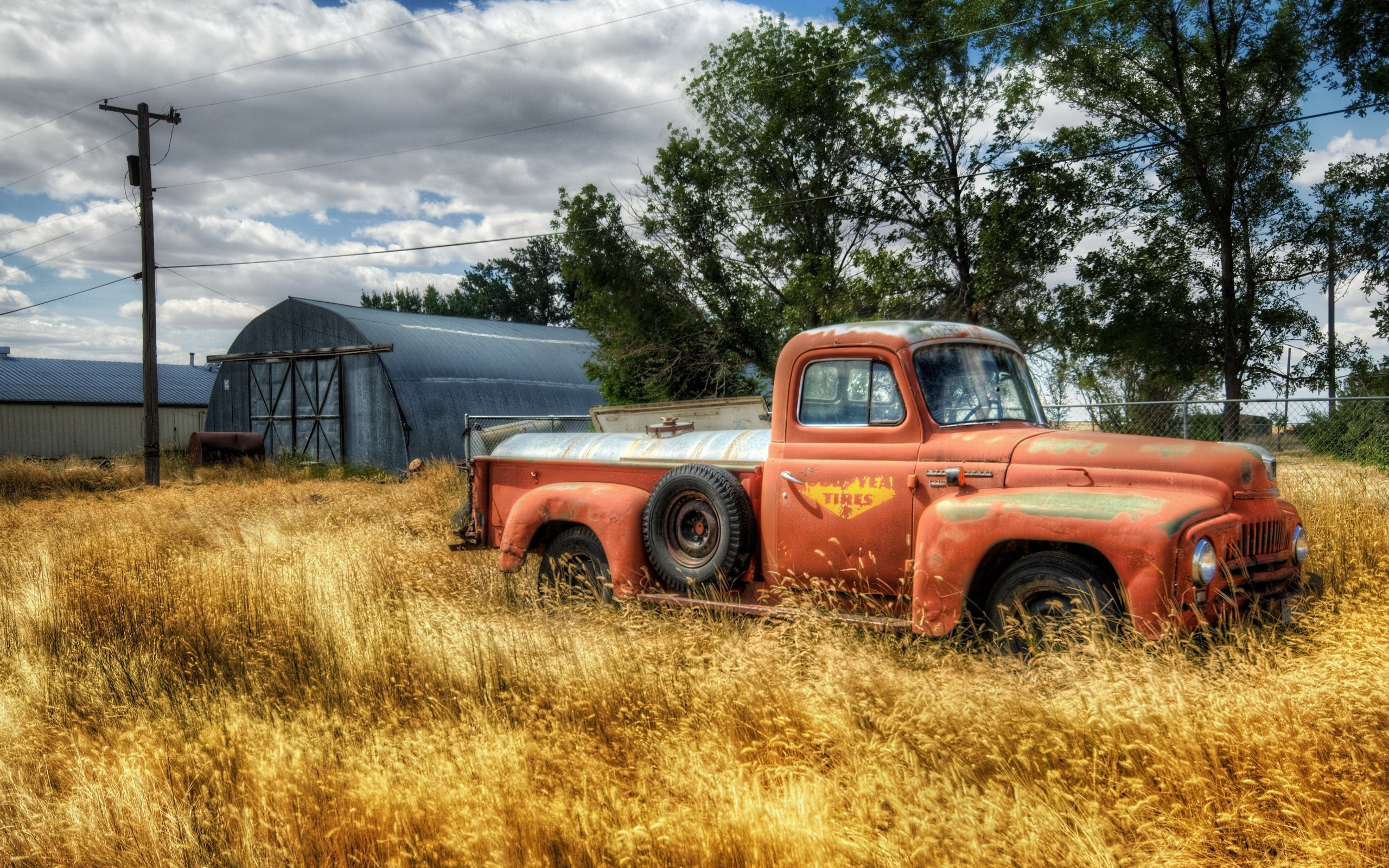 Farm Wallpaper 2560x1600