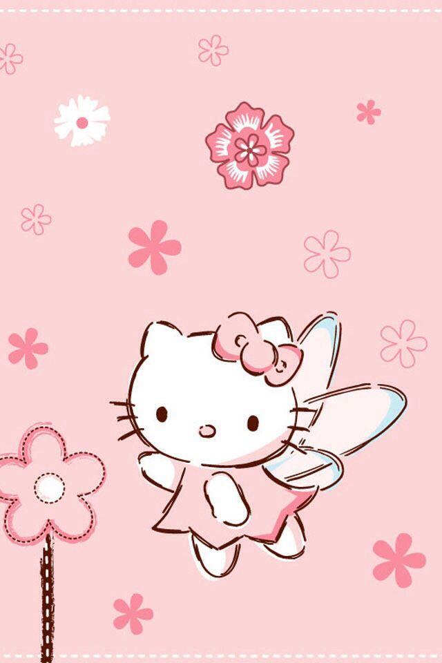 Hello Kitty Pink Fairy Hello kitty printables Hello kitty 640x960