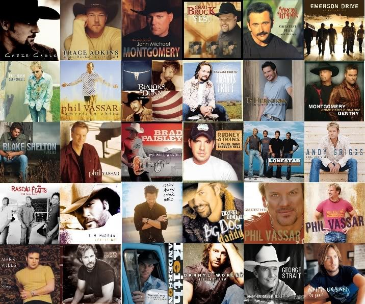 Country Music Collage Graphics Code Country Music Collage Comments 716x596