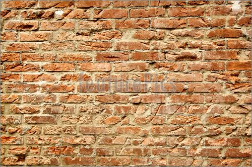 Stock Picture Brick Wall Background 500x332