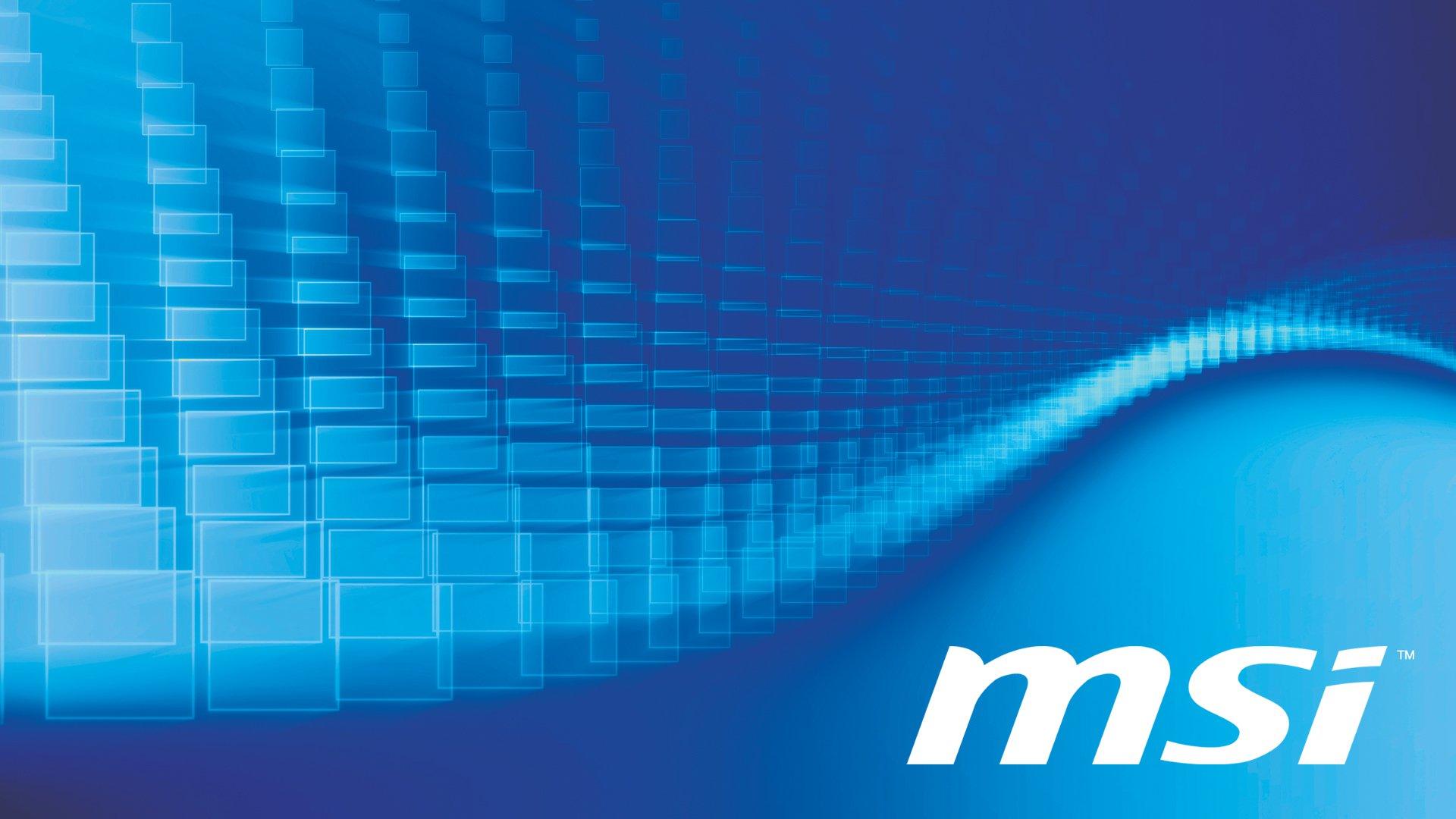 Fonds dcran Msi PC et Tablettes iPad etc 1920x1080