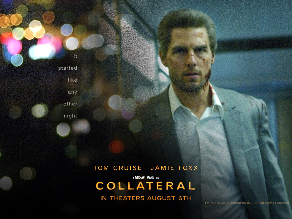 Hot Wallpaper Tom Cruise Collateral Movie 1024x768