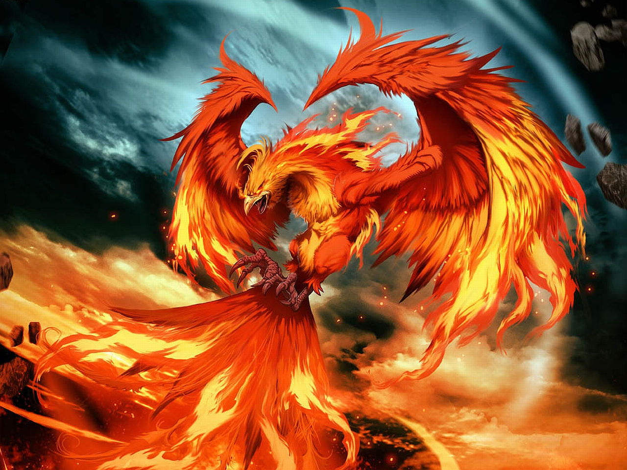 Phoenix Wallpapers Hintergrnde 1280x960 ID191606 1280x960