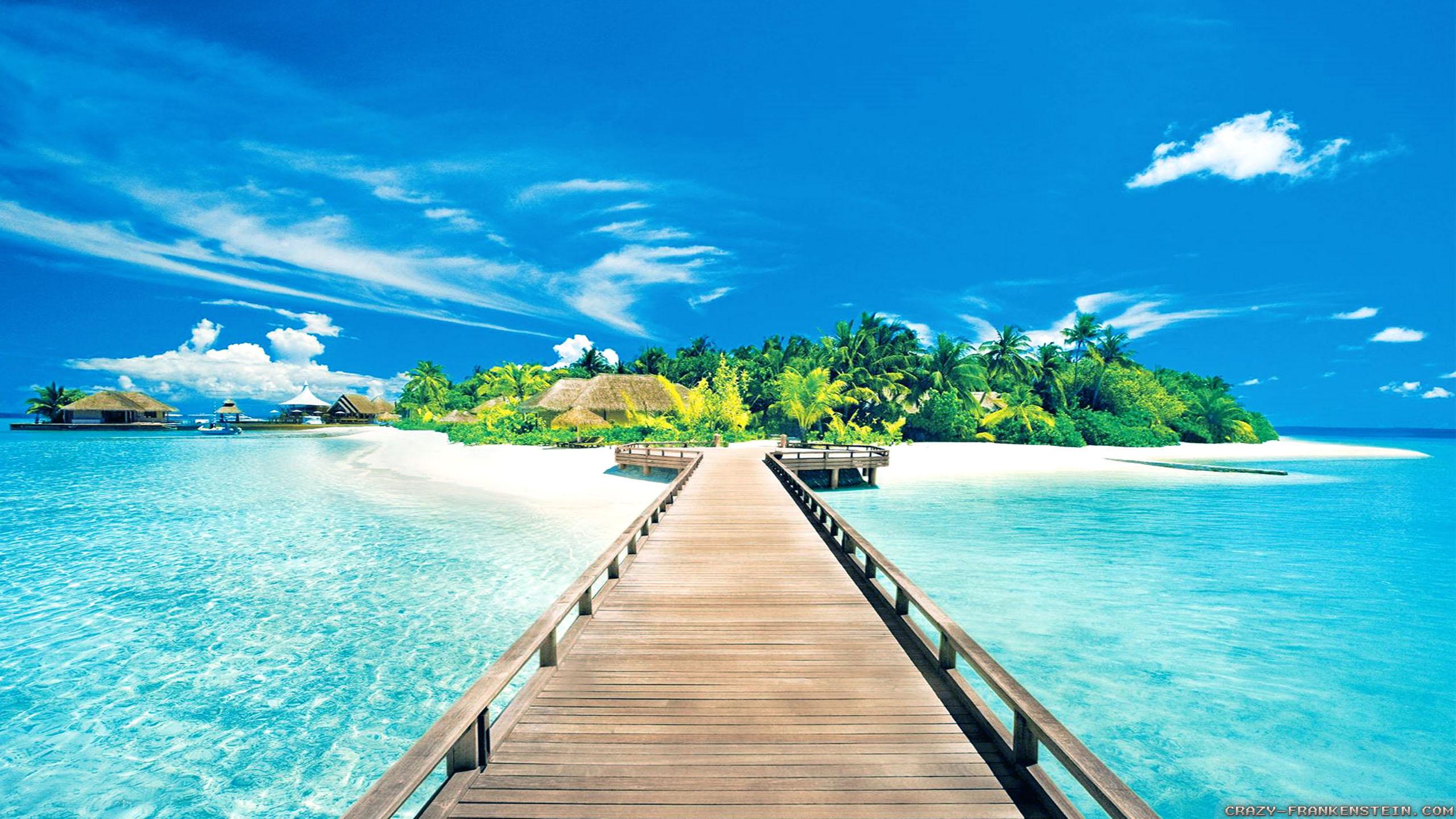 beautiful beach hd wallpapers 110 Freetopwallpapercom 2560x1440