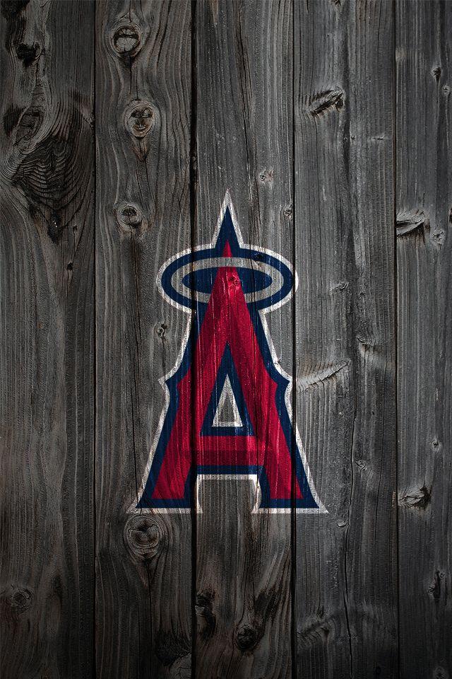 Los Angeles Angels iPhone Wallpaper Background Baseballs ANGELS 640x960