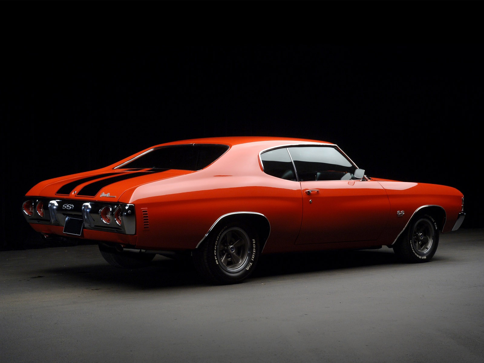1971 Chevrolet Chevelle S S classic muscle f wallpaper background 1600x1200