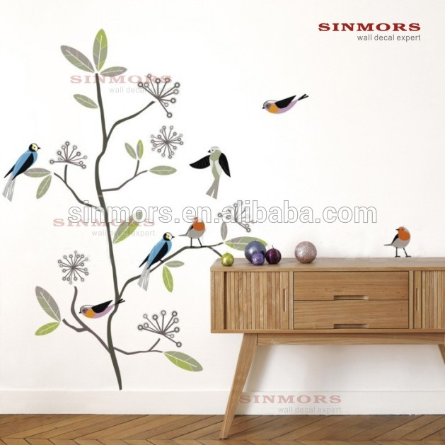 Made in China birds tree decorative wallpaperdry tree for decoration 629x629