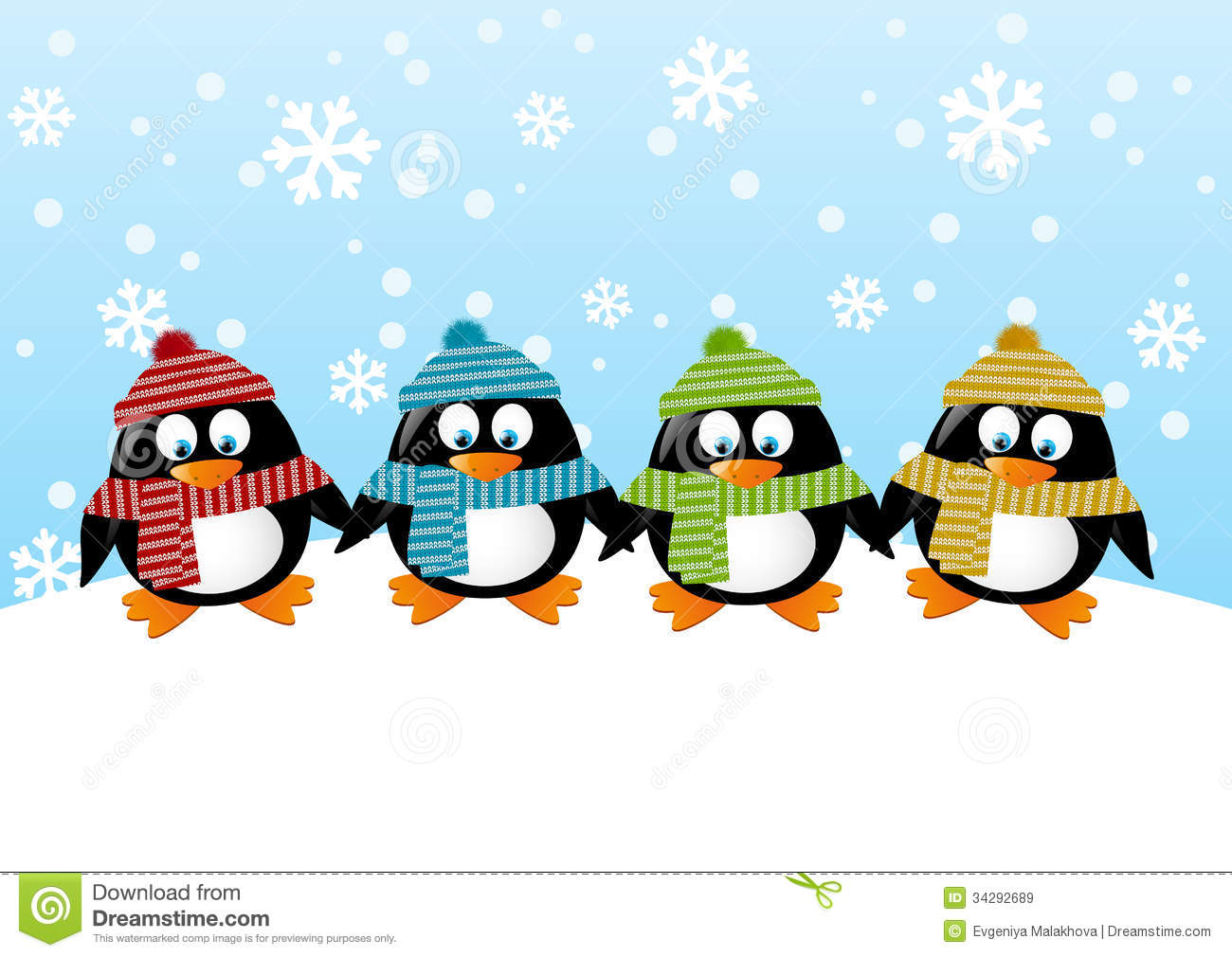 Cute Penguins Royalty Stock Images   Image 34292689 1300x1010