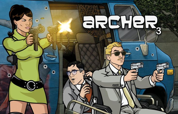 Lana Kane Archer Wallpaper Agent lana kane cyril figgis and ray 736x472