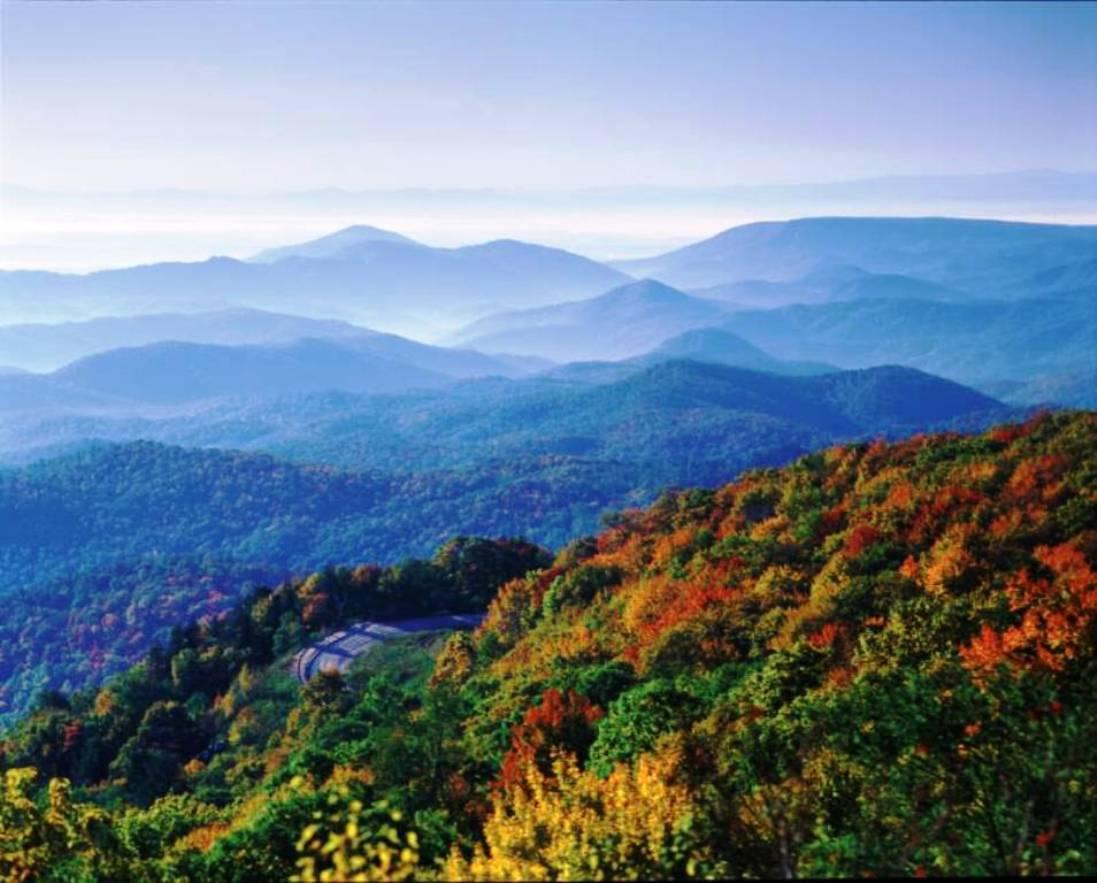 appalachian blue ridge mountains wallpaper - photo #6