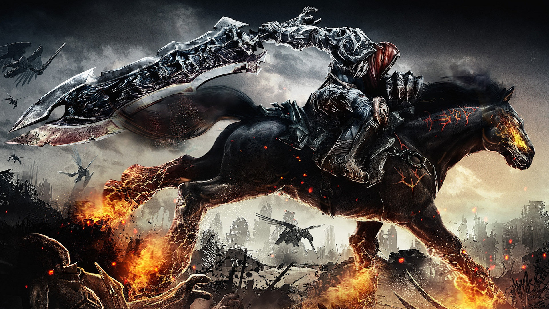 Horsemen Background Apocalypse Desktop wallpapers HD   179295 1920x1080