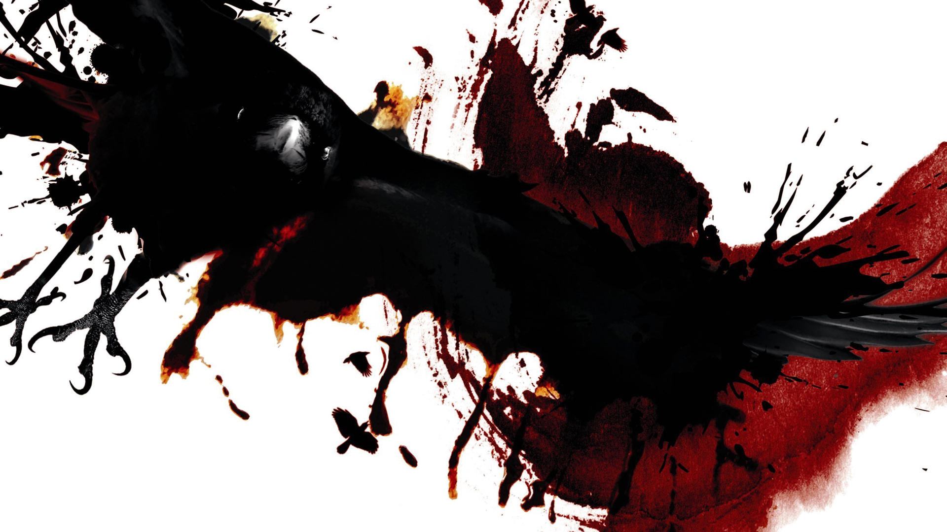THE RAVEN dark blood wallpaper 1920x1080 102957 WallpaperUP 1920x1080