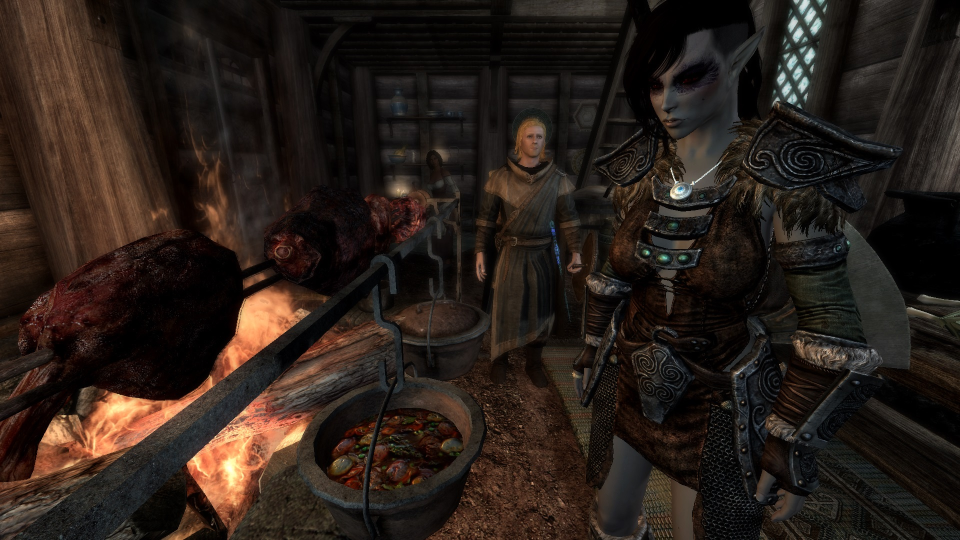 A hungry Dunmer at Skyrim Nexus   mods and community 1920x1080