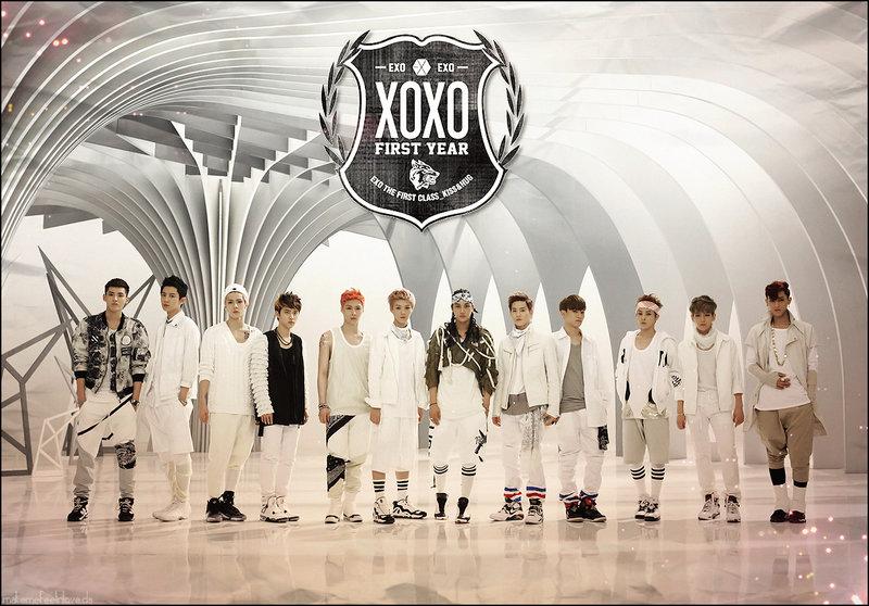 EXO wallpaper by makemefeelinlove 800x558