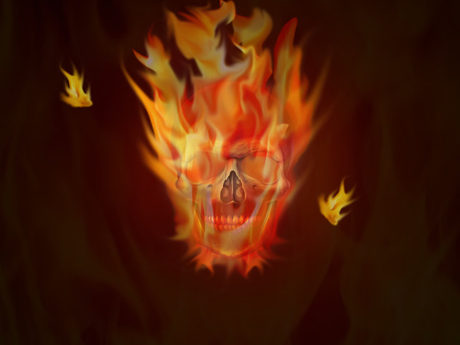 skull picture trees skull music fire only it player fire 900x675
