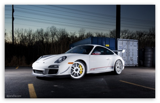 White 2012 Porsche 911 GT3 RS 40 HD desktop wallpaper Widescreen 510x330