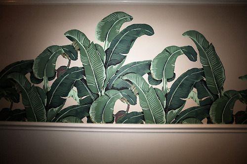 beverly hills hotel palm wallpaper wallpapersafari. Black Bedroom Furniture Sets. Home Design Ideas