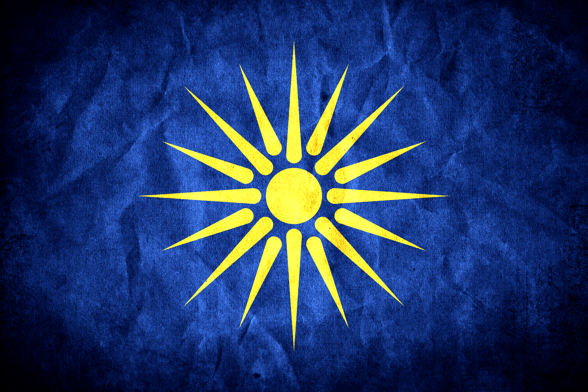Flag of Greek Macedonia By IronKnight by IronKnight0081 on 2000x1333
