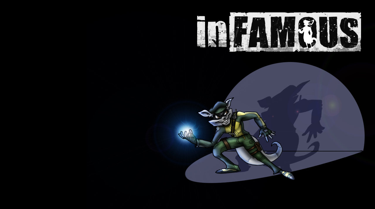 Sly is inFamous by a1backer 1280x715