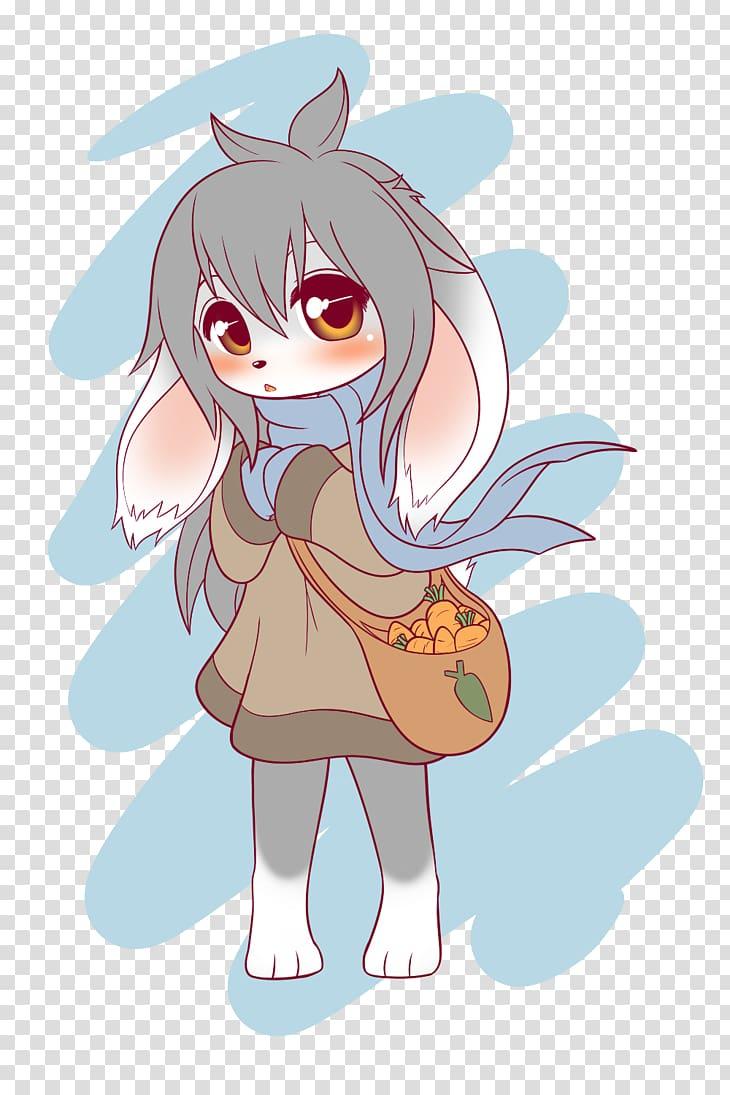 Furry fandom Anime Rabbit Art baby girl transparent background 730x1095