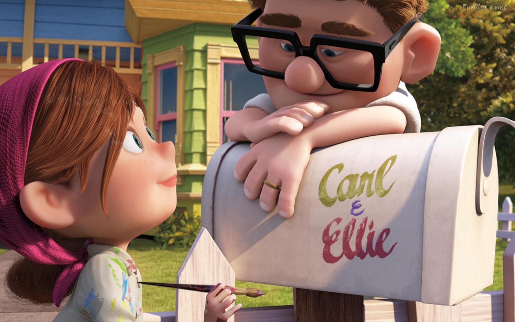 Pixar up Movie 1680x1050