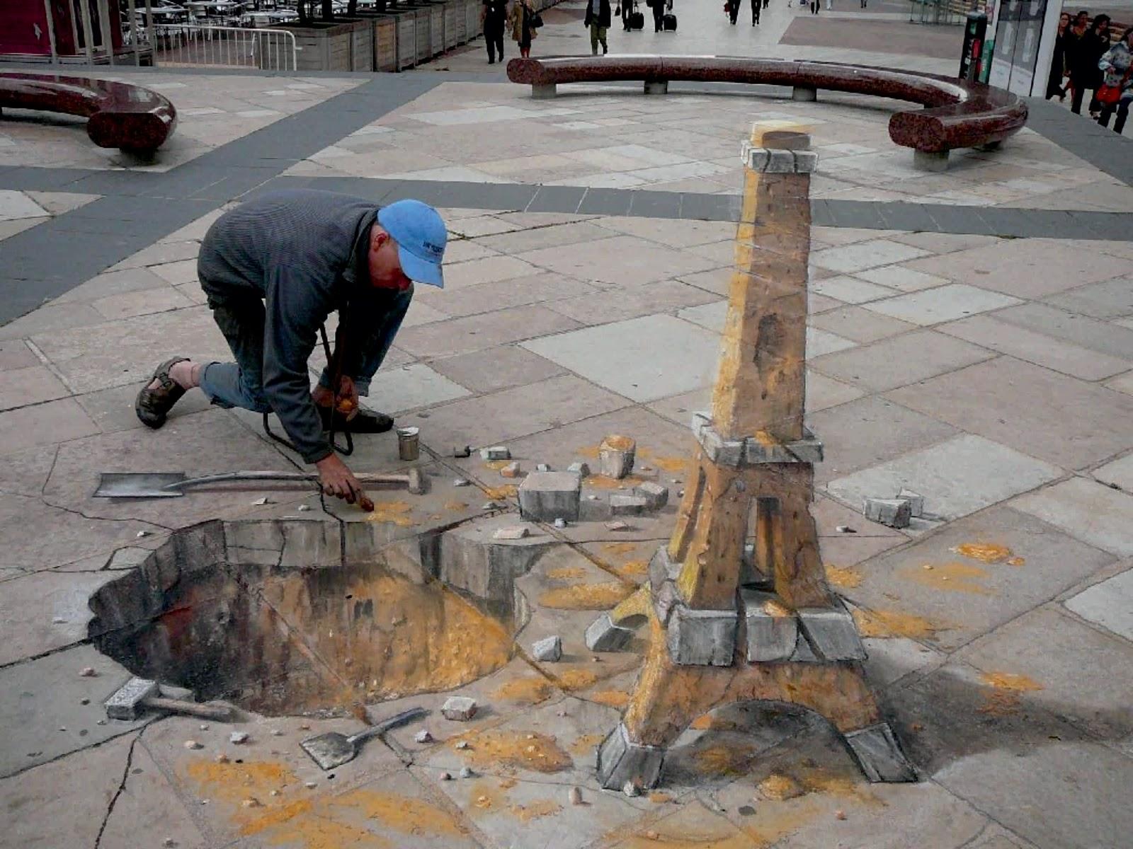 Street art paris 3d graffiti wallpaper 9319 wallpaper forwallpapers 1600x1200