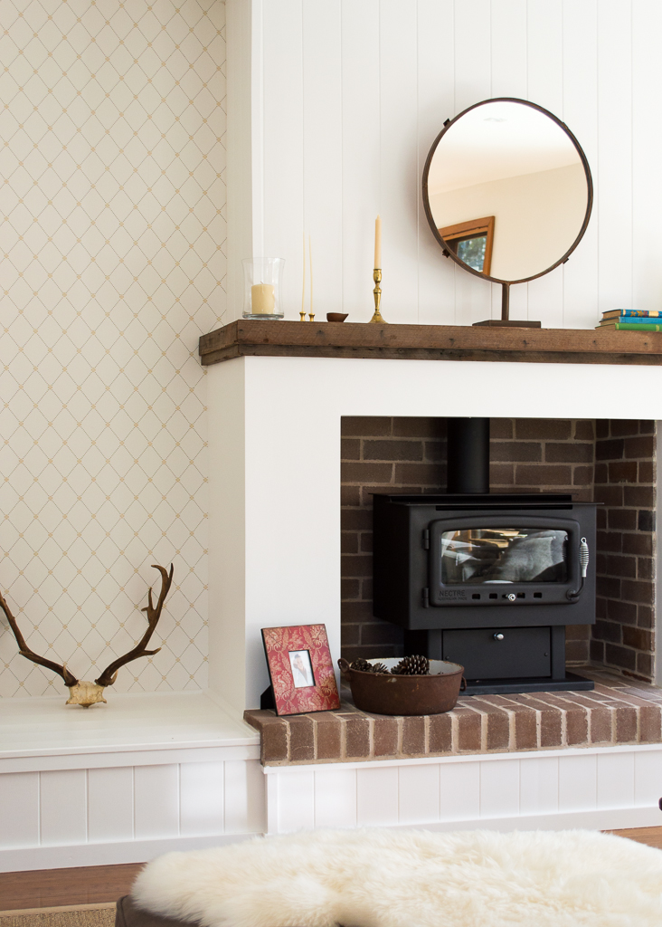 Wallpaper Mid Week Links Country Style Fireplace Wallpaper   Farm 732x1024