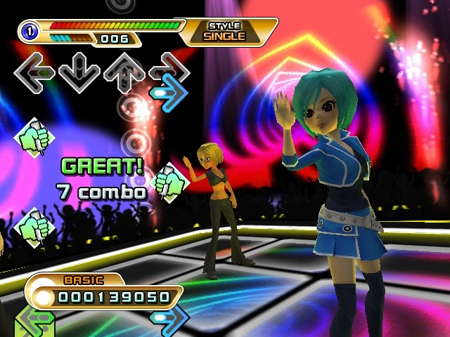 E3 2008 Dance Dance Revolution Hottest Party 2   Wii News Nintendo 640x480