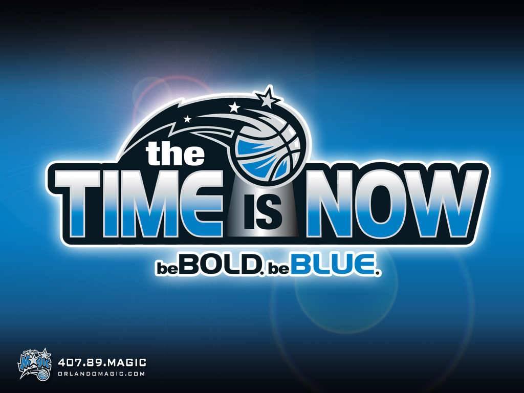 NBA Orlando Magic Time Is Now basketball Wallpaper - Orlando Magic ...