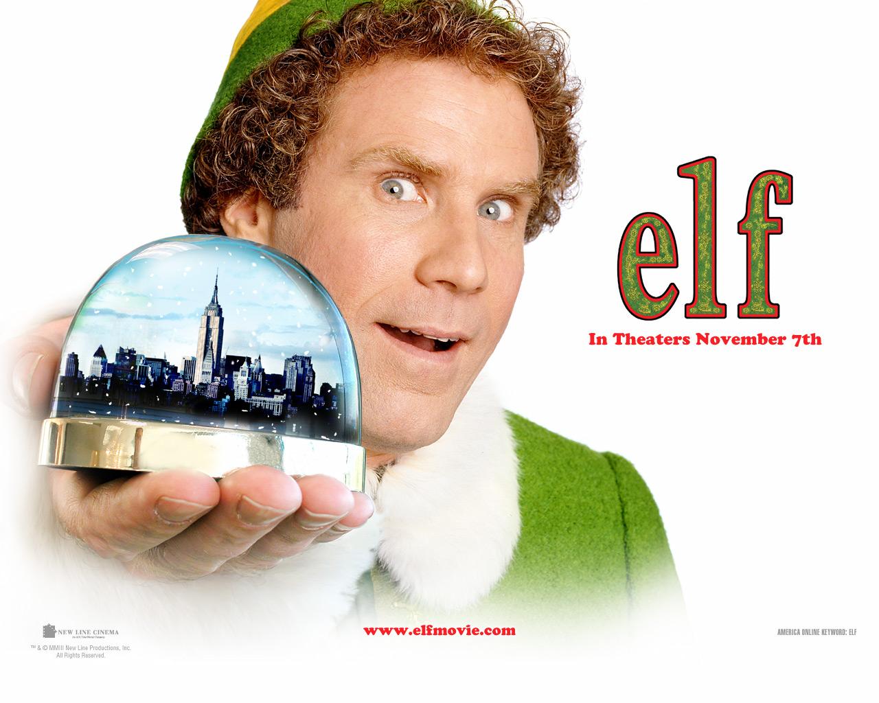 Elf Movie Wallpaper 1280x1024