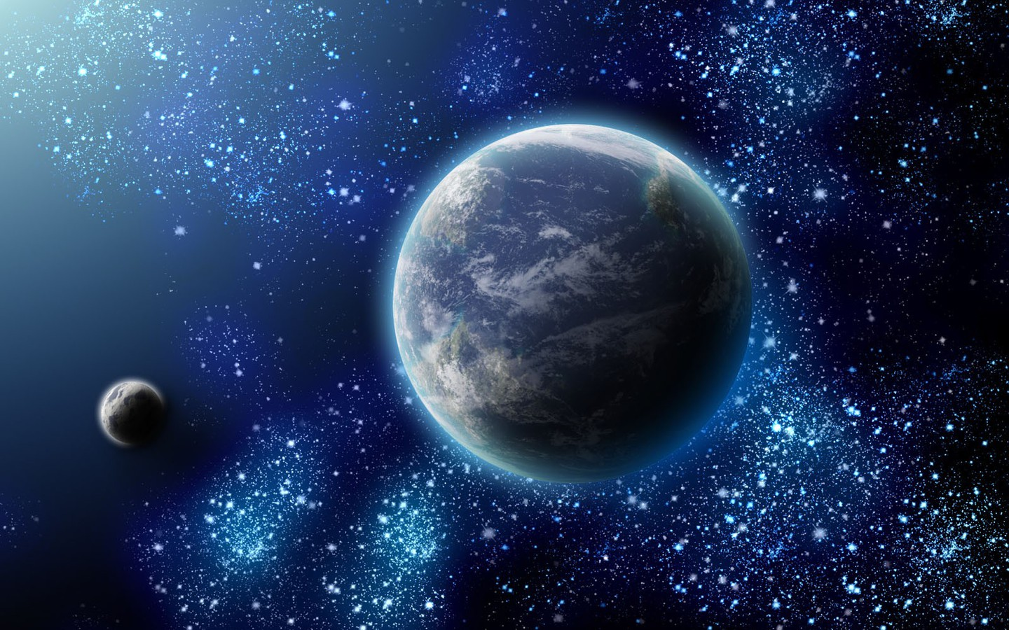 [48+] 3D Space Wallpapers HD on WallpaperSafari