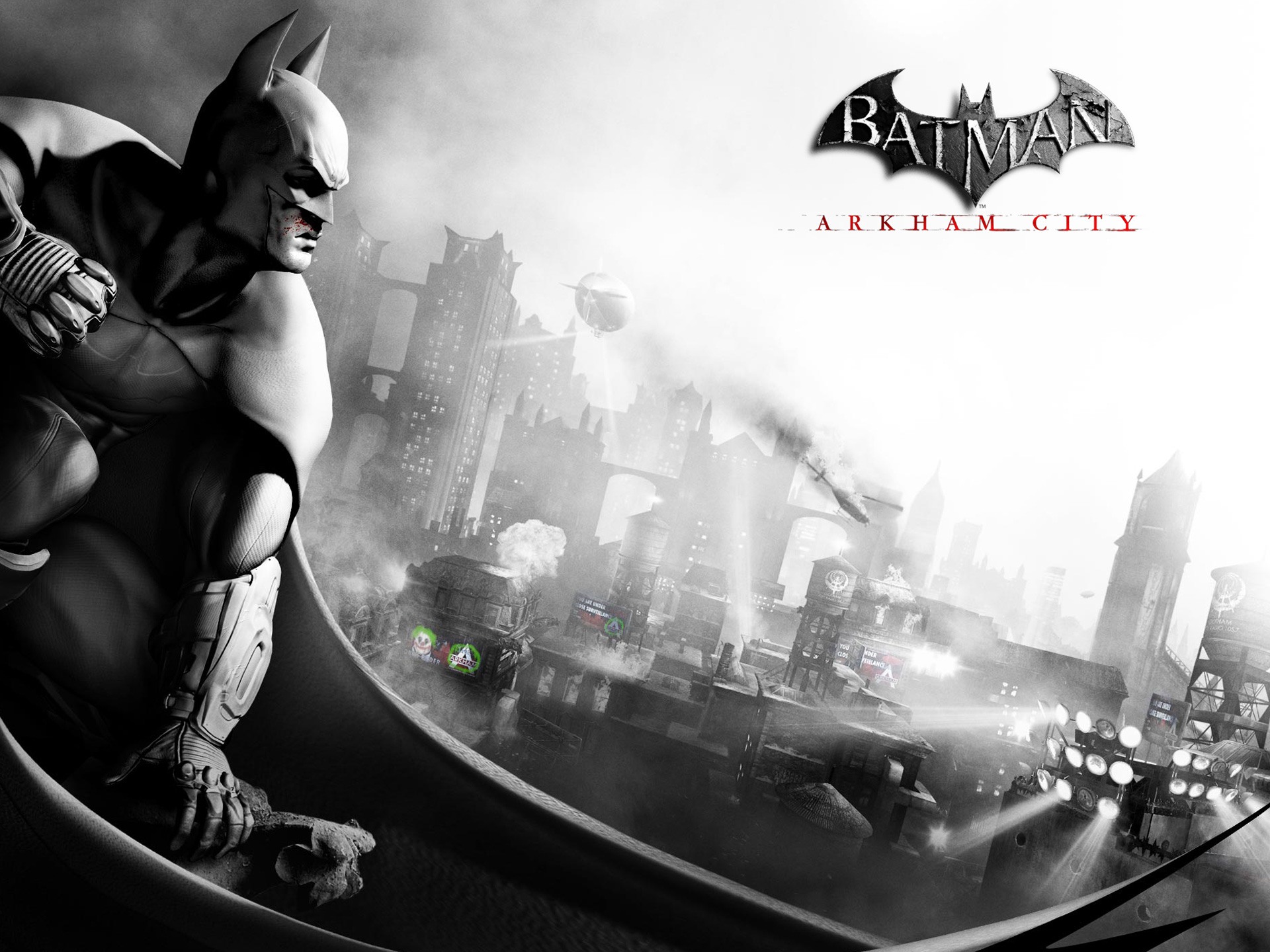 Batman Arkham City 2011 Game Wallpapers HD Wallpapers 1920x1440