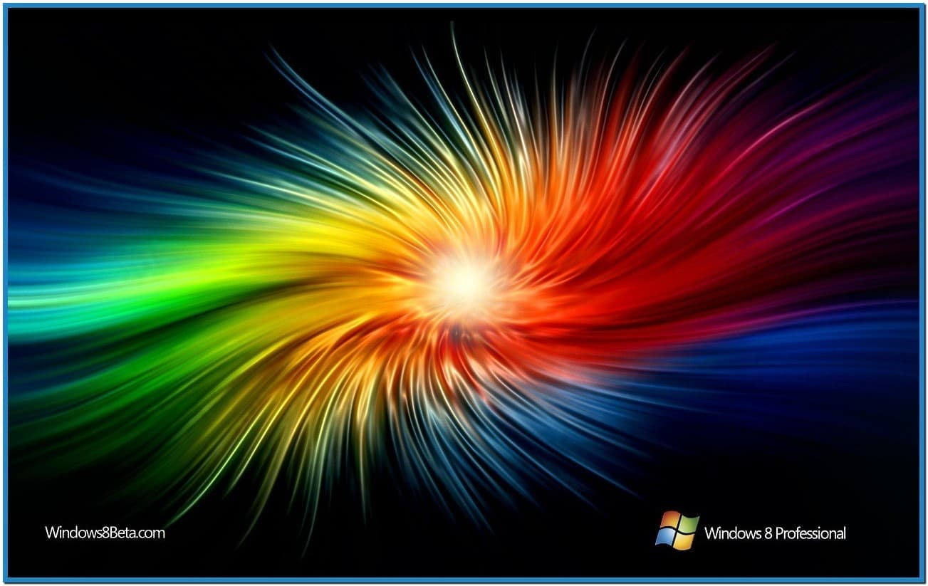 how to set screensaver in windows 8