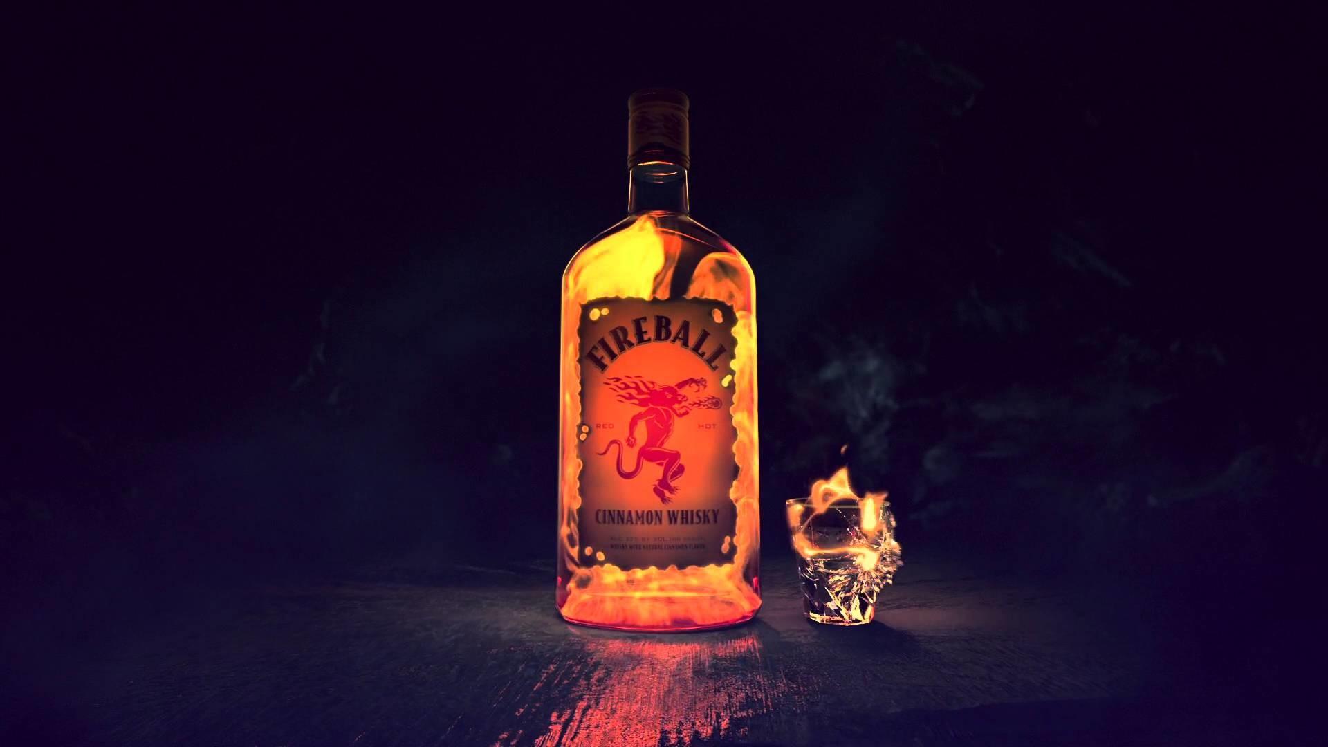 Fireball Whisky Wallpaper 66391 1920x1080px 1920x1080