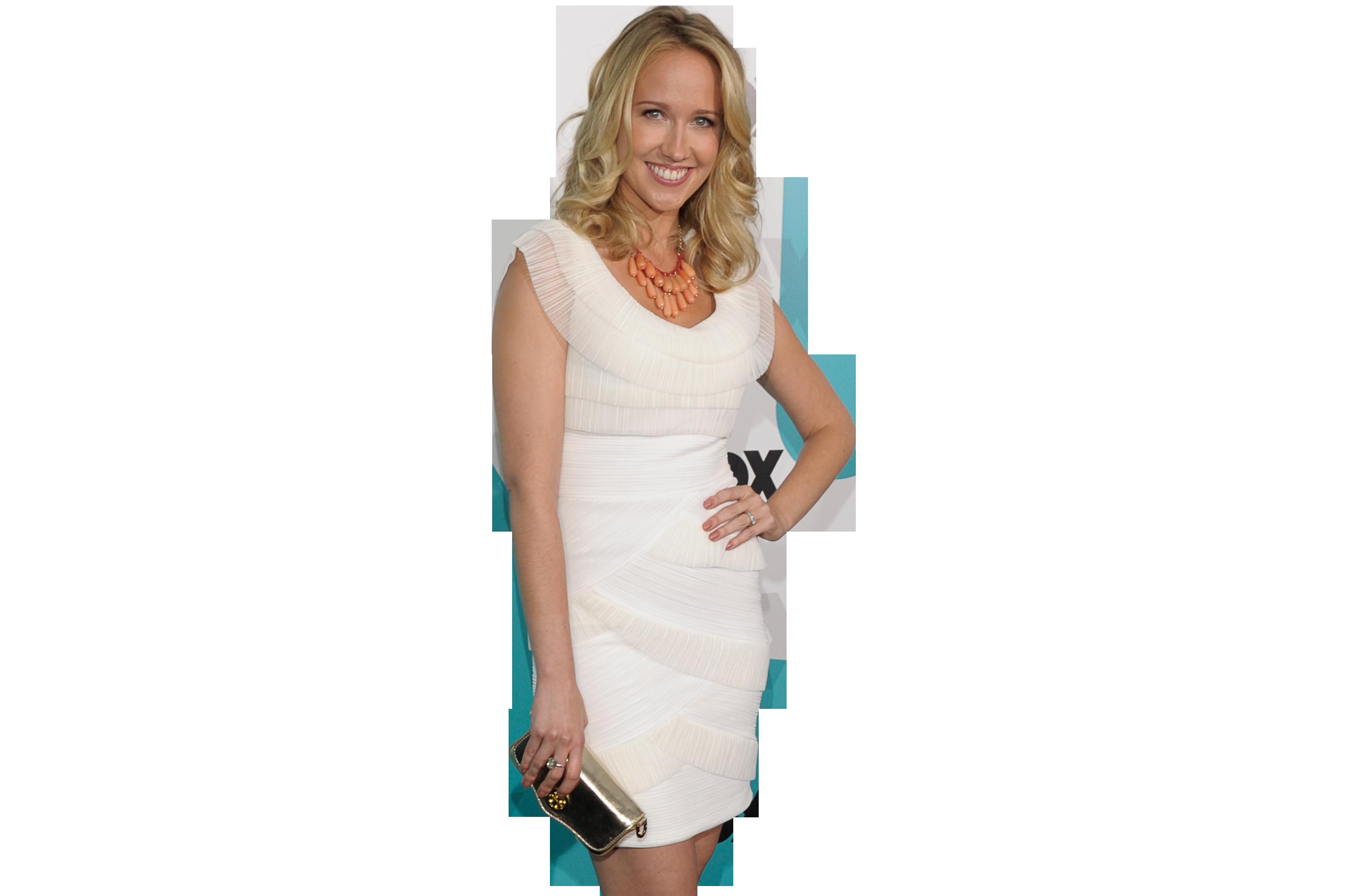 Anna Camp in White Dress Hd Wallpaper Wallpaper 2700x1800
