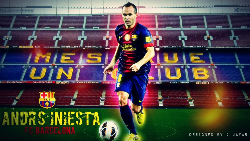<b>Andres Iniesta HD Wallpapers</b> - BackgroundHDWallpapers
