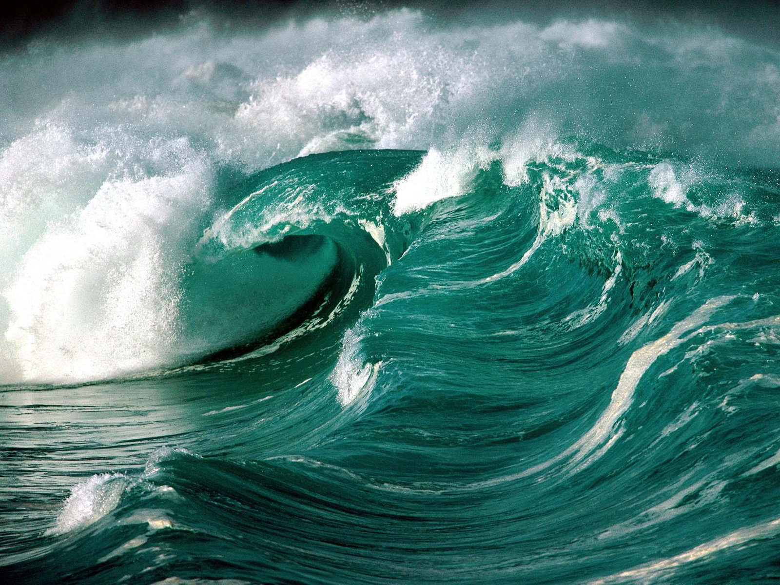 Green waves wallpapers Green waves stock photos 1600x1200