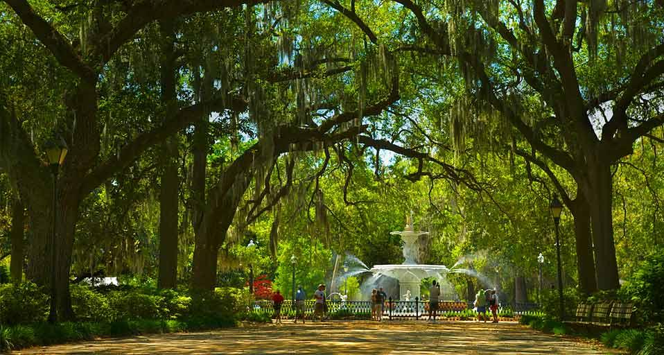 Forsyth Park in Savannah Georgia Russell KordAurora Photos 958x512