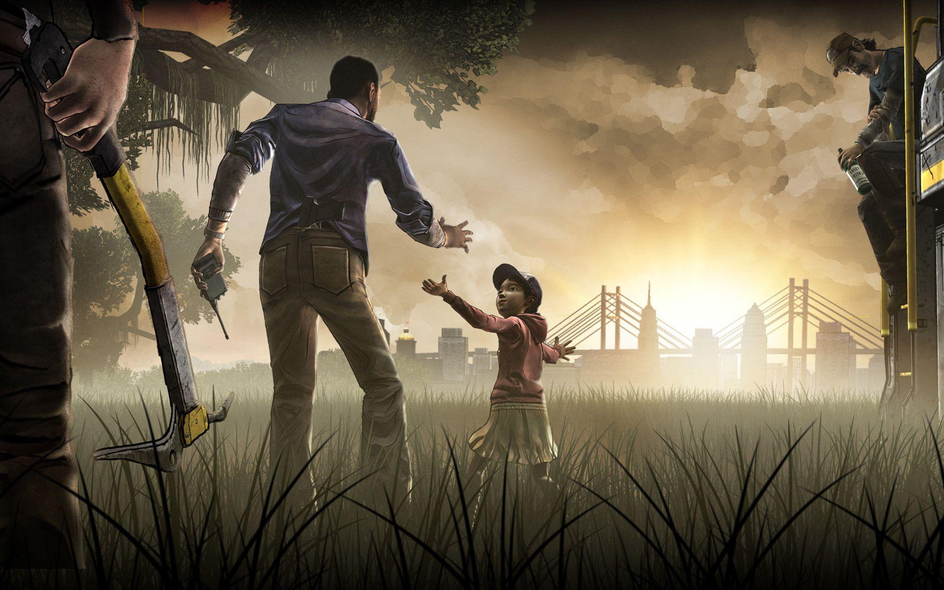 74 The Walking Dead Game Wallpaper On Wallpapersafari