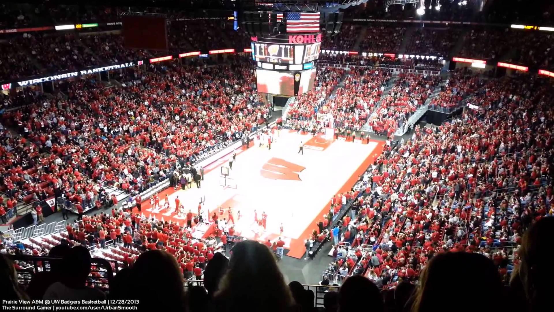 Sam Dekker Alley Oop   Wisconsin Badgers Basketball   12282013 1920x1080
