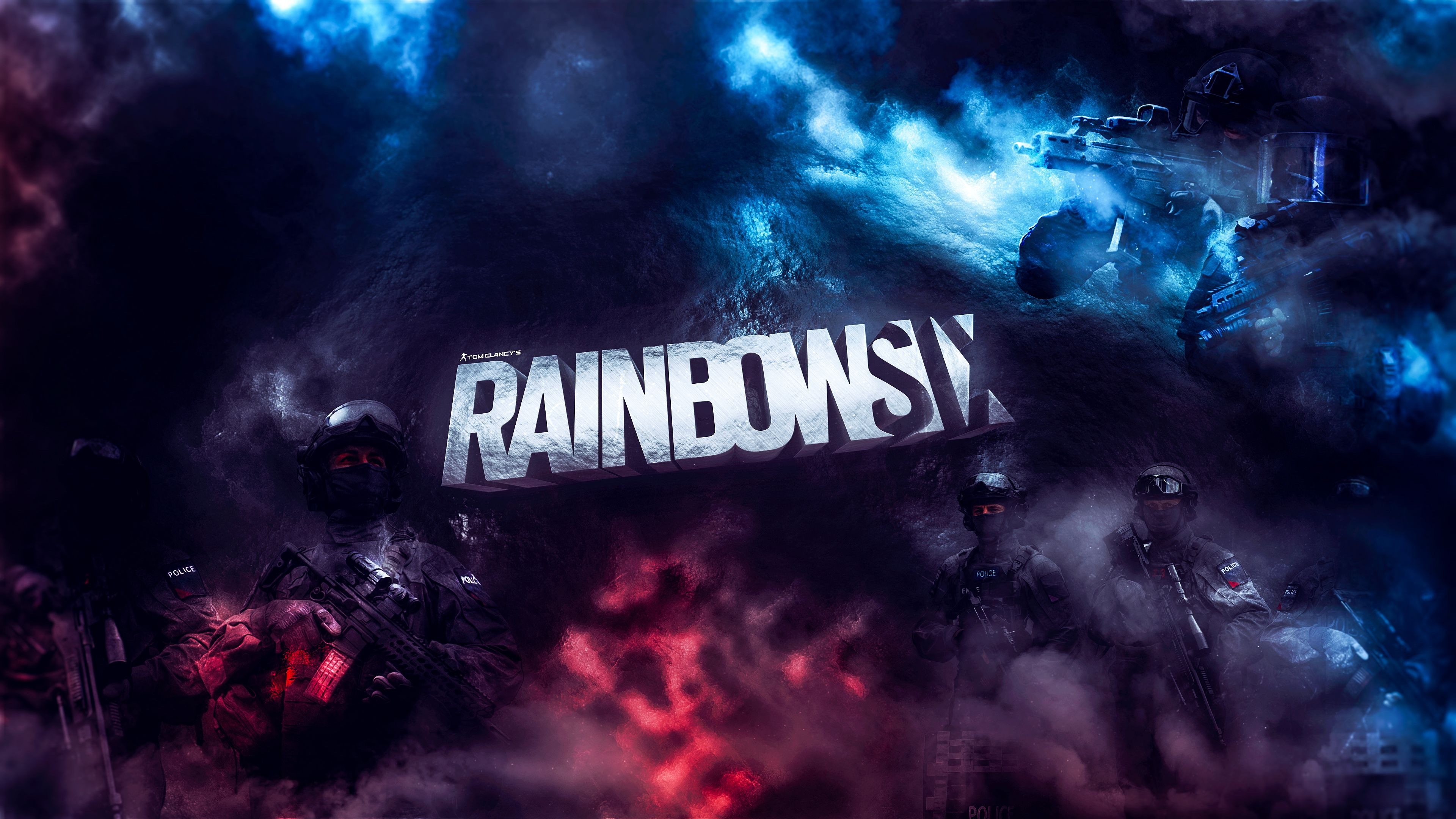 Rainbow Six Siege 4k Artwork xbox games wallpapers tom clancys 3840x2160